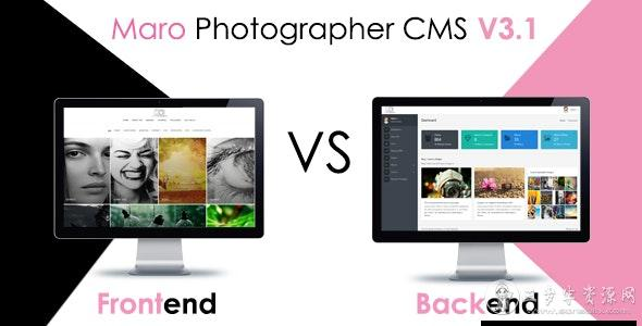 Maro Phpotographer CMS v3.2,图片管理CMS程序