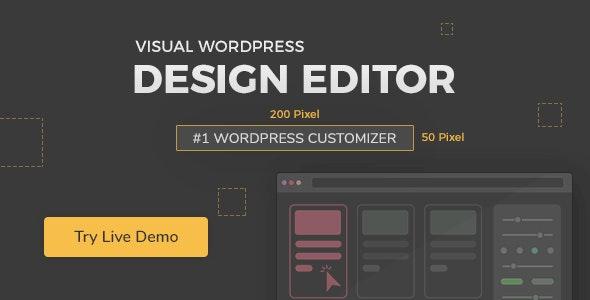 黄铅笔WordPress主题_YellowPencil v7.2.9,CSS可视化编辑器插件